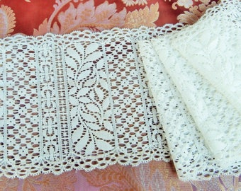"D 12 - Lace cream patterns ""old"", 16 cm."