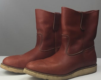 Vintage engineer Red Wing Irish Setter Boots Size 11.5D