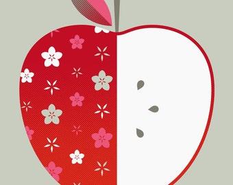 apple limited edition print