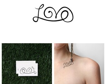 The L Word - Temporary Tattoo (Set of 2)