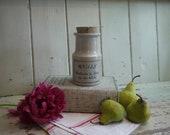 Antique Jar - French Jar ...