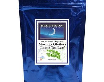 Moringa Tea Loose Tea Leaves 4 oz. = 60 - 2 gram cups of tea