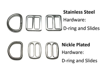 """Upgrade to Stainless Steel Hardware - 1"""" (25mm) Collar Upgrade - Nylon Collar Upgrade"""