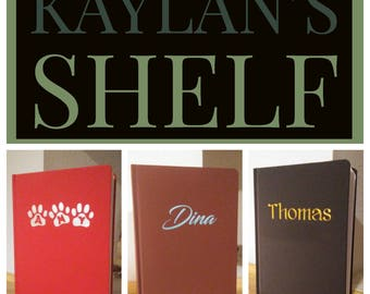 Personalized Journals: Customize With Your Name!