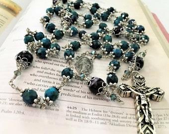 Chrysocolla Unbreakable Rosary