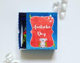 Australia Day  matchboxes