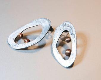 Steel Loop Earrings
