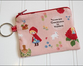 Story Book Coin Pouch