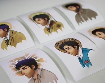 Castiel's Halo Vinyl Stickers