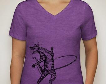 Feline the Flow Hooping Cat T-shirt