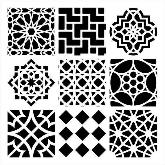 Gemütlich Marokkanische Schablone Vorlage Fotos ...