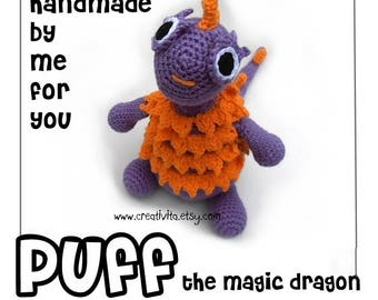 Handmade Puff the Magic Dragon