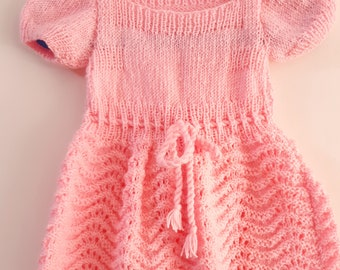 Baby girl dress, crochet girl dresses, baby dress , knitted baby clothes, dresses for girls, Knitted dresses for girls,Baby girl dress,