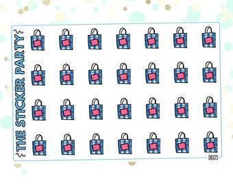 B & Body Works Planner Stickers