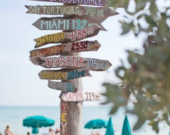 Key West Florida, Ft Zachary Beach, Fort Zachary Beach, Key West Photography, Beach Photography, 8x12 Photo Print