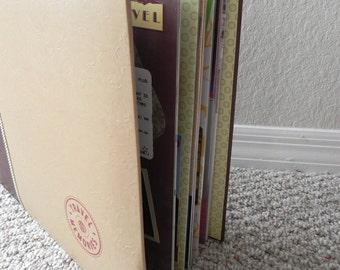 CUSTOM 12x12 Scrapbook Album, 20 pages