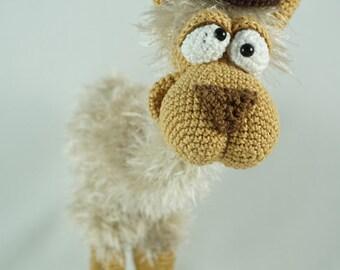 Amigurumi Crochet Pattern - Lolita the Lama - English Version