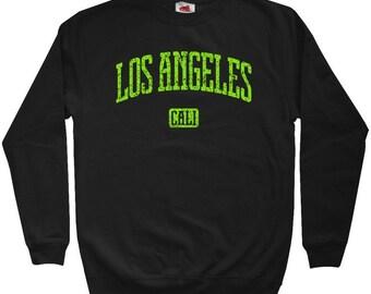 Los Angeles Sweatshirt - Men S M L XL 2x 3x - Crewneck L.A. Shirt - California - 4 Colors