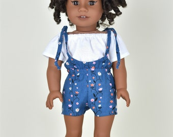 Romper 18 inch doll clothes EliteDollWorld EDW