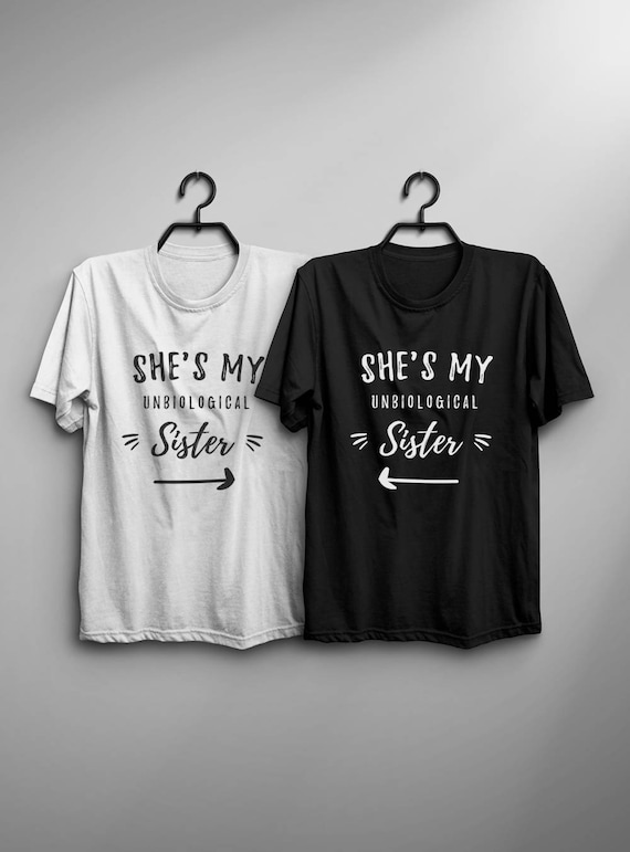 Best Friend Gift Funny Matching T Shirt Graphic Tee For Women