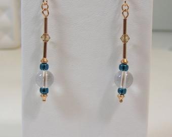 Sea Lantern Earrings