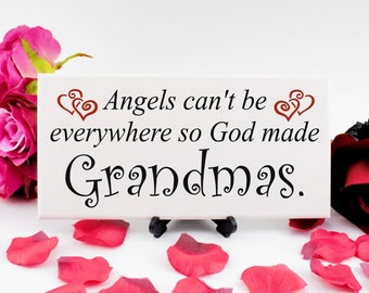 Grandmother Mothers Day Gift, Handmade Wooden Sign, With Sentimental Message, Perfect Gift for your Nanna / Granny, 249