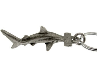 Hammerhead Shark Keychain - Scuba Diving Keychain