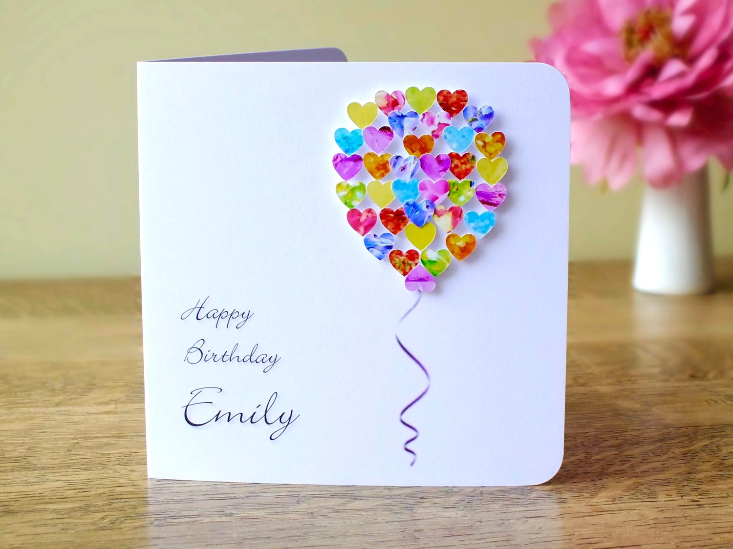 how to make handmade birthday greeting cards for love