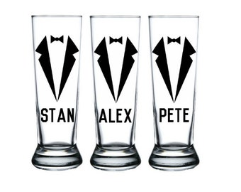 Personalized Groomsmen Mugs, Groomsmen Beer Mugs, Grooms Mug, Groomsmen Gift, Best Man Gift
