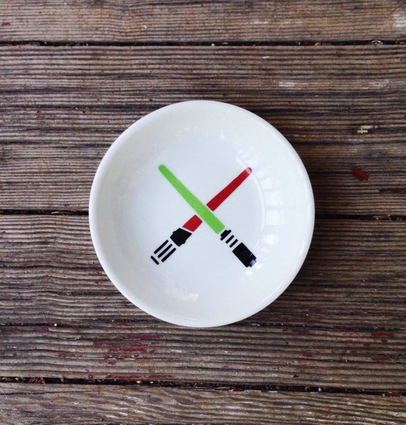 Star Wars | Wedding | Ring Dish | Lightsaber | Trinket Holder | Engagement Gift