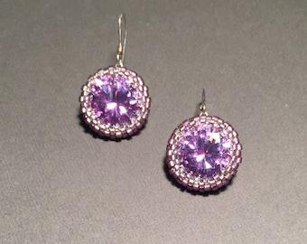Ultra Violet Earrings