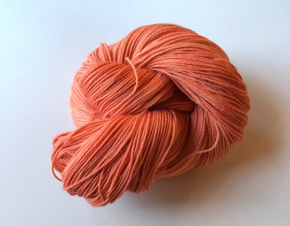 Hand Dyed/Painted Yarn - Fingering weight sock yarn 80/20 Superwash Merino/Nylon wool Yarn