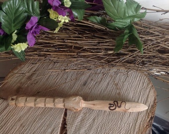 Serpent  Driftwood Athame