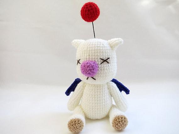 Amigurumi Magazine Pdf : Crochet pattern pdf amigurumi final fantasy moogle doll