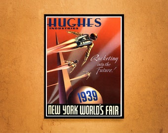 Reprint of the 1939 New York World's Fair Poster