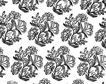 Digital Download - Collage Sheet - Floral Spread