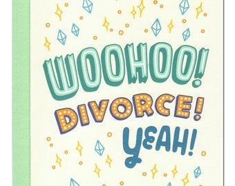 Woohoo Divorce Card