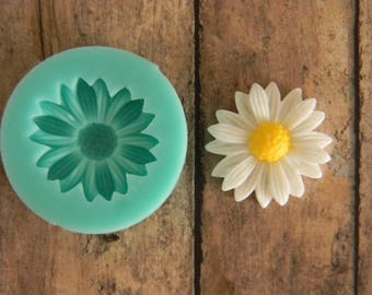 Silicone Flexible Mold- Daisy M