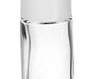 200 - 1/3 oz Roll-On Bottles with White Cap  FREE SHIPPING