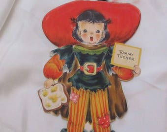 Greeting Card - Collectible Hallmark Vintage Birthday Card - Unused - Tommy Tucker Doll #7