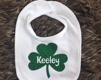 St. Partick's Day personalized Bib