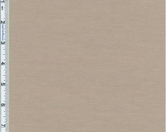 Beige Poly Blend Jersey Knit, Fabric By The Yard