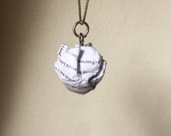 Lord of the Rings: The Fellowship of the Ring - Paper Ball Pendant