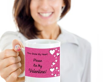 Special Valentine's Day Coffee Mug, Best Gifts For Sweetheart, Husband Wife Girlfriend Boyfriend Valentine Love Idea, Novelty Lovers Present