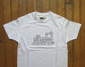 """T-shirt enfant - Série limitée - motif """"Train"""""""