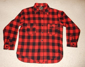 Chippewa, Buffalo Plaid Men's Wool Shirt