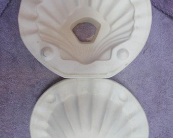Duncan DM468A Shell Soap Dish Ceramic Mold S20