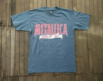 Vintage 90s Metallica Garage Inc band shirt