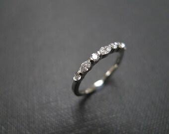 Marquise Diamond Wedding Ring / Diamond Ring / Engagement Ring / Marquise Ring / Marquise Wedding Ring / Personalize Ring / Platinum Ring
