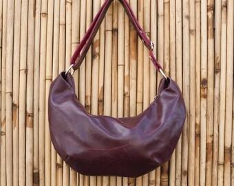 Wine Hobo Bag - cross body vegan purse!